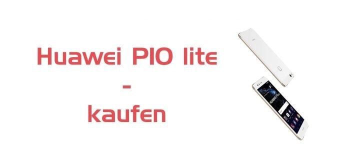 Huawei P10 lite ab sofort zu kaufen