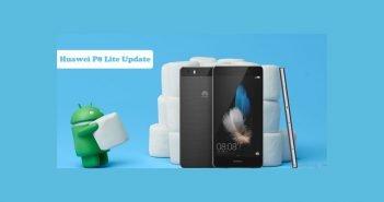 Huawei P8 lite Firmware Update Titel