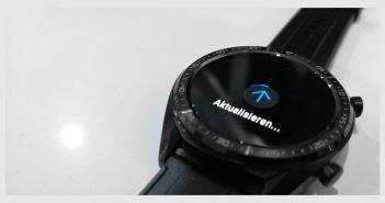 HUAWEI Watch GT Firmware Update Titel