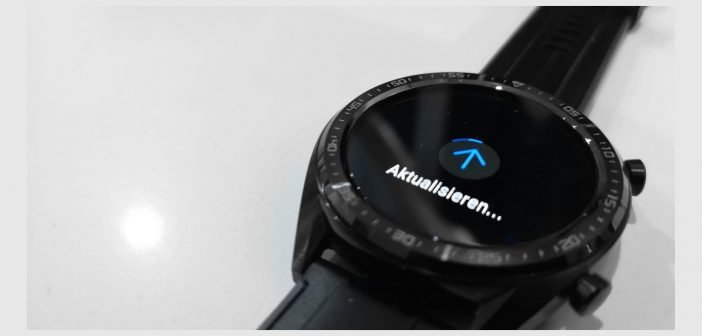 HUAWEI Watch GT Firmware Update Titel