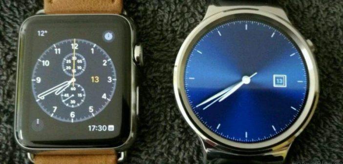 huawei vs apple watch