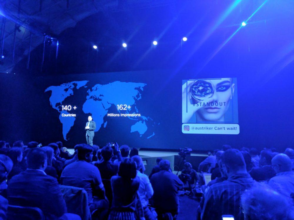 Huawei P10 / P10 Plus - #standout- Barcelona - MWC 2017