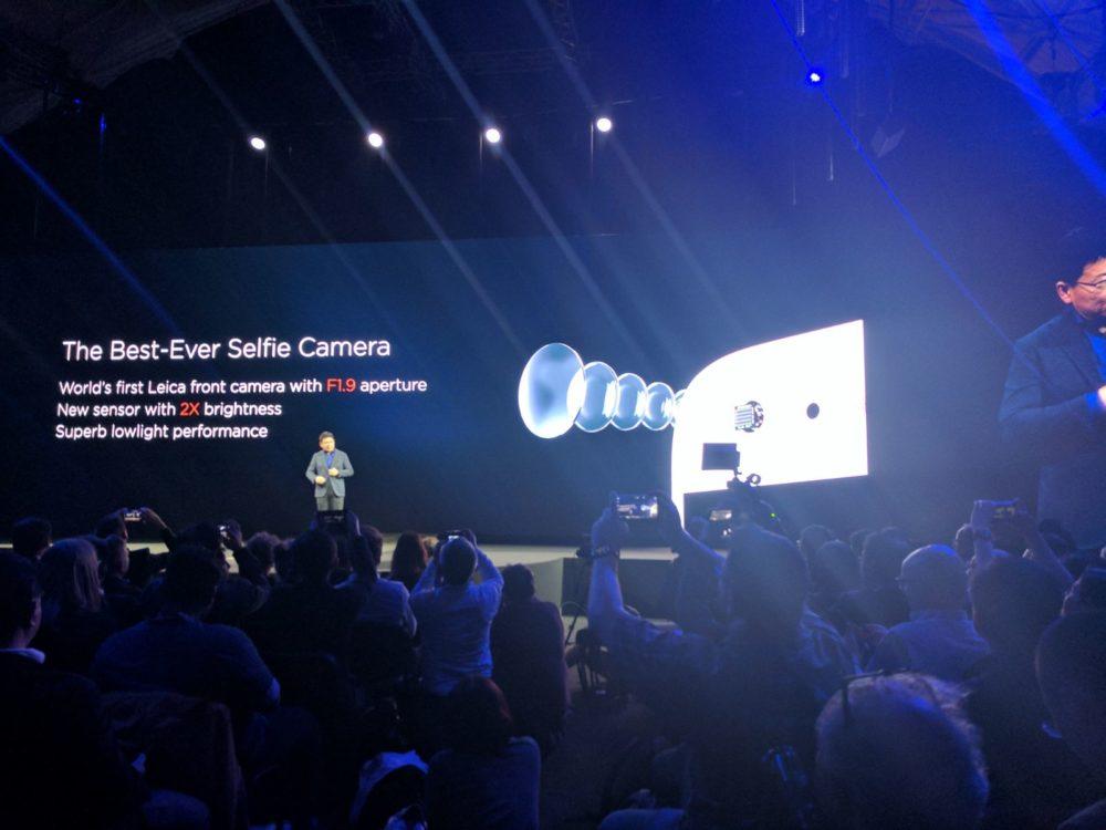 Huawei P10 - Leica - Selfie Cam - F 1.9 aperture