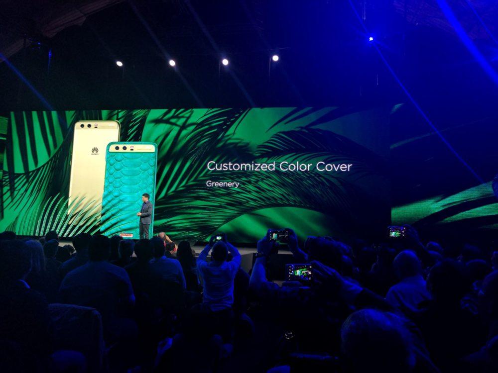 Huawei P10 - Zubehör - Case - Grün