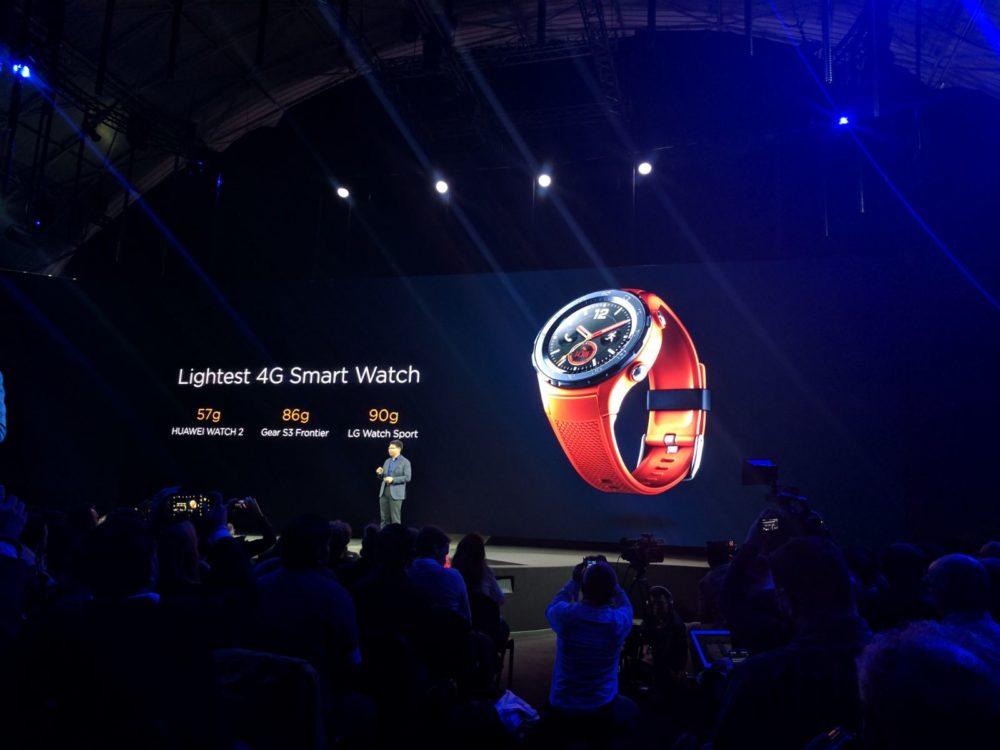 Huawei Watch 2 - Gewicht - 57g