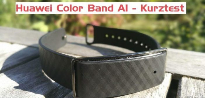 Huawei Color Band A1 - Test