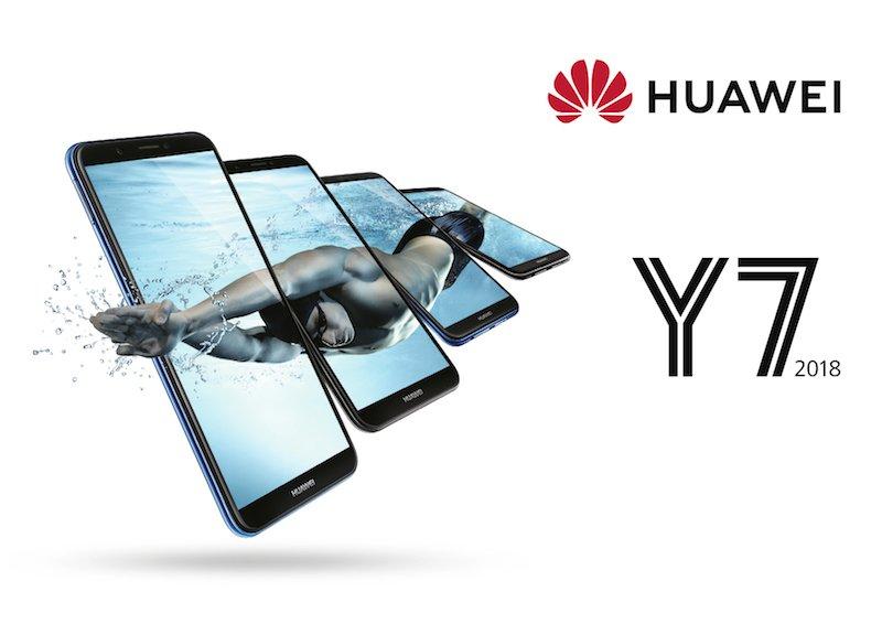 Huawei Y5 Y6 Und Y7 2018 Offiziell Vorgestellt Huaweiblog
