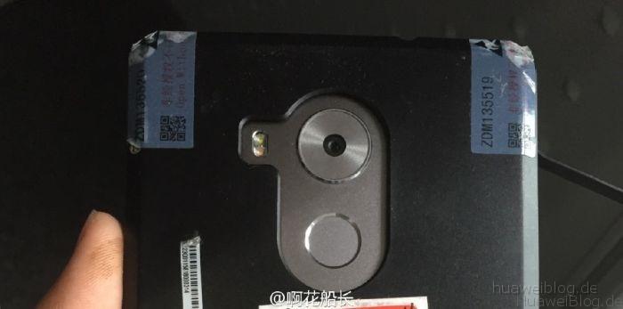 Mate 8 Rückseite mit Fingerabdruckscanner