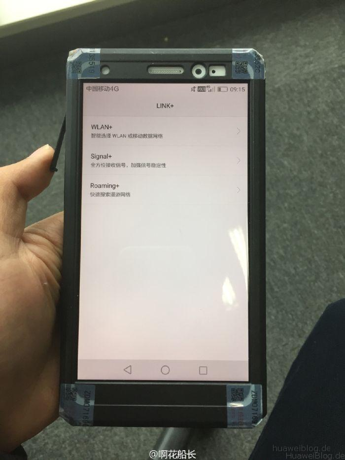 Mate 8 in Cover