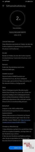 Huawei Mate 20 Lite erhält Sicherheitsupdates und neue Funktionen 1