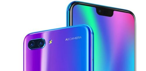 honor 10 notched
