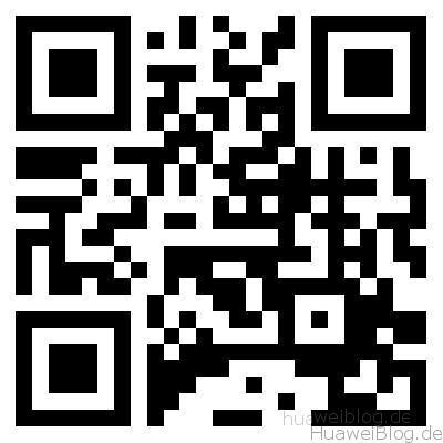QR Code mit der Kamera scannen - Huawei Blog