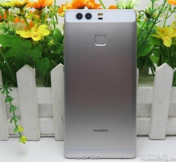 Huawei P9 Teaser Leak Back Rückseite
