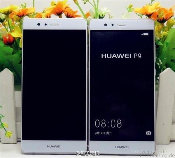 Huawei P9 Teaser Leak Front