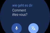 Android Wear 2 Feature Übersetzer