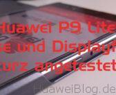 Huawei P9 Lite Original Cover und Olixiar Displayschutz kurz angetestet