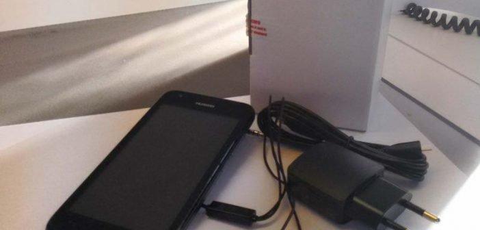 Huawei Ascend Y550 Test